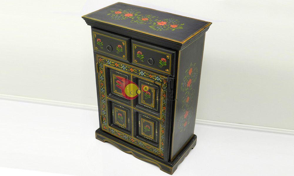 Mueble de la colección TESOROS DE INDIA en negro