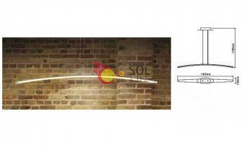 Lámpara LED lineal de mantra