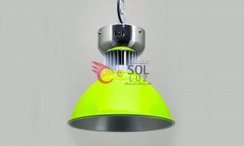 Campana LED en color verde