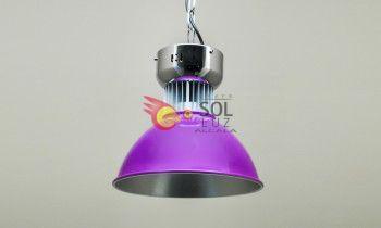 Campana LED en color morado