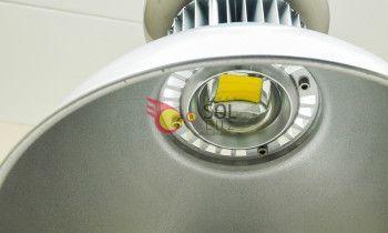 Campana LED en color amarillo