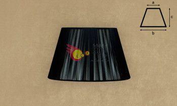 Pantalla de hilo en color negro 25cm