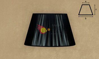 Pantalla de hilo en color negro 30cm