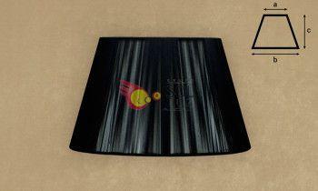 Pantalla de hilo en color negro 35cm