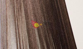 Pantalla de hilo en color marrón 25cm