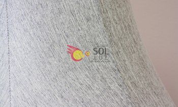 Pantalla tronco en color gris 15cm