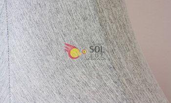 Pantalla tronco en color gris 25cm
