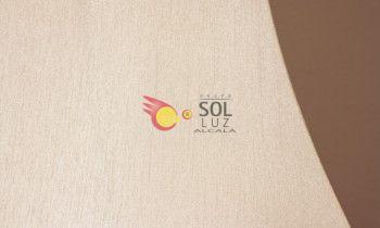Pantalla tronco en color beige 25cm