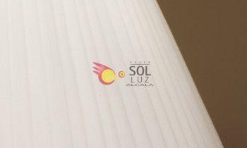 Pantalla tableada en color blanco 25cm