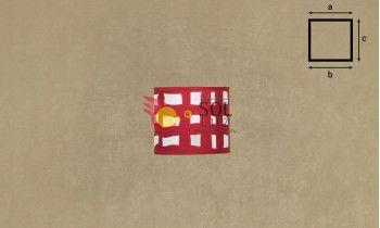 Pantalla cilindro de pergamino y tela granate