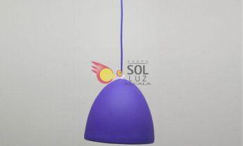 Lámpara juvenil en color morado