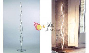 Lámpara de pie MANTRA de la colección SÁHARA