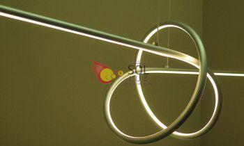 Lámpara LED colección espiral