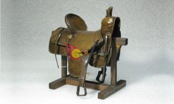 Réplica silla de montar