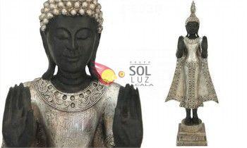 Figura buda thai resina