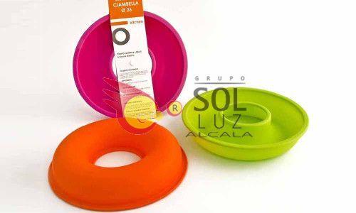 Molde de silicona naranja