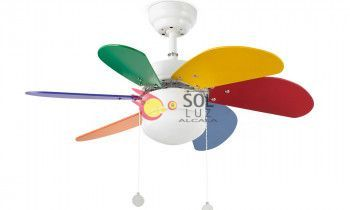Ventilador faro PALAO multicolor 33179