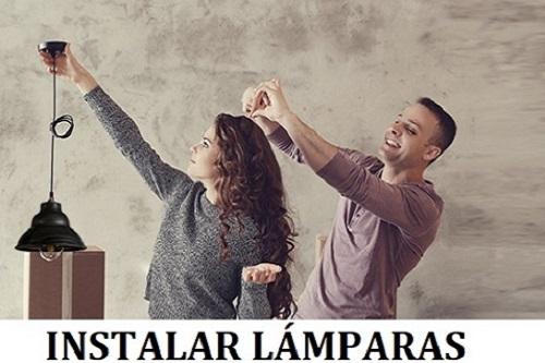INSTALAR LÁMPARAS